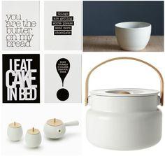 white kitchen trinkets