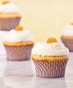 Pineapple Orange Gluten Free Cupcakes