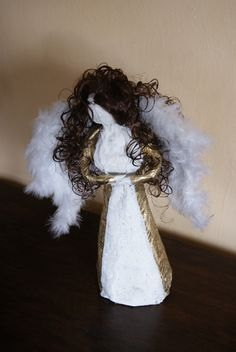 angel, anioł, hand made,