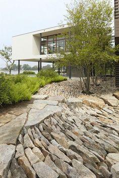 Sweeney Landscape Design           - houblon:   Le jardin paysager - tendance moderne...