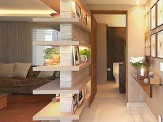 Depois da fachada, o hall de entrada é o principal cartão de visitas de uma residência, já que é o ambiente que mostra a personalidade da casa.