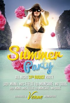 Download Free Summer Beach Party PSD Flyer Template Flyer PSD Freebies http://www.freepsdflyer.com/free-summer-beach-party-psd-flyer-template/