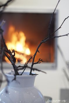 Interior inspiration for winter and christmas from Avelia #interior #shop #avelia #winter #christmas #fireplace #tinek   http://divaaniblogit.fi/charandthecity/2014/12/21/21-taydellinen-joulusisustus-avelia/