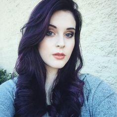 Winter violet using aveda color - Imgur