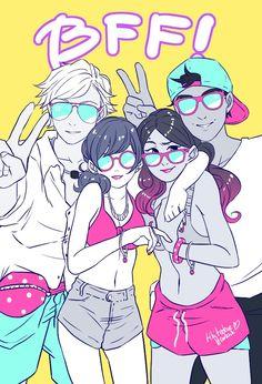 ¡¡¡¡¡AMOOO ESTA IMAGEN!!!!! Ladybug Em Portugues, Adrien Agreste, Miraculous Theme Song, Nino Miraculous, Adrian And Marinette, Marinette And Adrien, Ladybug E Catnoir, Ladybug Comics, Ladybug Anime