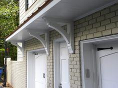 Buckhead Garage Eyebrow and Shutters - traditional - Exterior - Atlanta - Hall Design Build