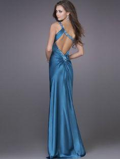 Blue Wedding Dress or bridesmaid dress option