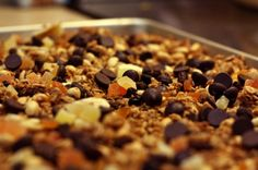 Peanut Butter GranolaRecipe