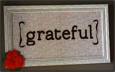 Tonight's Might! It's Grateful Friday. This week had highs and lows...we know and understand. Please share one thing that you are grateful for in it. August 1, 2014