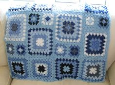 Shortbread & Ginger: Baby Blue Crochet