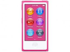 "iPod Nano Apple 16GB - Tela Multi-Touch 2.5"" Acelerômetro"