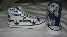76ecc4d9eecefd Cowboys Converse Dallas Cowboys Shoes