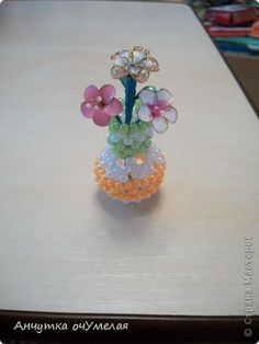 MK bowl of beads