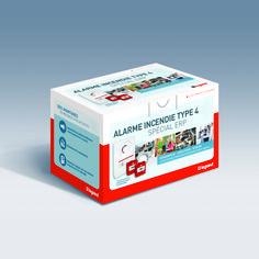 Prêt-à-poser alarme Legrand par Graphik Studio #legrand #pap http://graphik-studio.com/work/