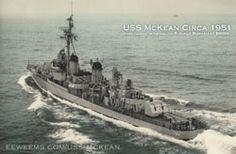 USS McKean from Port Stern