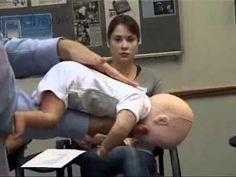 First Aid- choking baby - British Red Cross