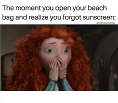 I always get toasted in sunshine whether I put on sunscreen or not.sunburn and freckles are my version of a tan. Redhead Memes, Redhead Facts, Redhead Funny, Redhead Girl, Ginger Jokes, Ginger Facts, Red Hair Quotes, Redhead Problems, Red Hair Don't Care