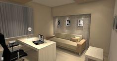 Gabinet w domu - Gabinet - Styl Nowoczesny - Kamila Ratajczyk. INterior Design. Aranżacja, Projektowanie wnętrz.