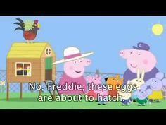 Peppa Pig Cartoon  Spring with subtitle