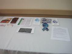 Sharing Table-So much information it takes two pictures!