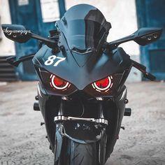 Yamaha R25, Demon Eyes, Super Bikes, Golf Bags, Cute Wallpapers, Luxury Cars, Motorcycles, Instagram, Fancy Cars