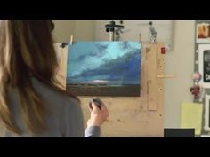 How to Paint Storm Clouds in Pastel Time-lapse Demo by Bethany - YouTube