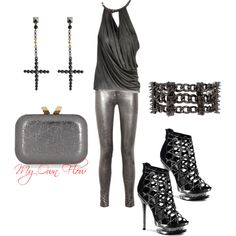 """""""THE ROCK CONCERT"""" by myownflow on Polyvore"""