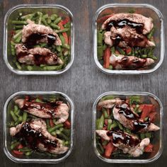 Make Meal Prep Easy And Delicious With Balsamic Chicken And Veggies