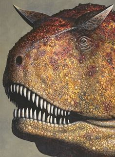 James Field dinosaur paintings; - JamesFieldIllustrations