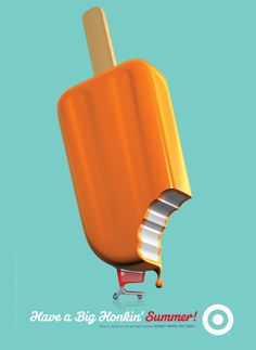 Target Summer 2012 - Ice Cream - Allan Peters #poster #campaign