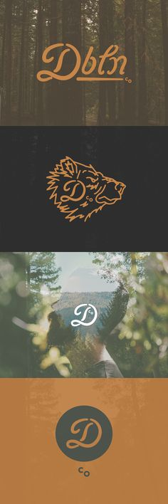 Logo inspiration by Danny Jones #Graphic #Design #Identity