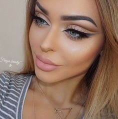 Gorgeous Makeup: Tips and Tricks With Eye Makeup and Eyeshadow – Makeup Design Ideas Makeup Hacks, Eye Makeup Tips, Smokey Eye Makeup, Glam Makeup, Makeup Inspo, Makeup Inspiration, Beauty Makeup, Hair Makeup, Makeup Ideas