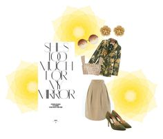 """""""SunnyFallDay"""" by becky-winfield-watson on Polyvore featuring Rika, Linda Farrow, Banana Republic, F.R.S For Restless Sleepers, Oscar de la Renta, Paul Andrew and Miriam Haskell"""