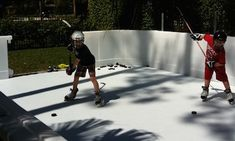 Our Artificial Ice Rinks Are Made Of The Highest Quality Materials U0026 Are  Easy To Install For Year Round Hockey Training U0026 Skating Anywhere At Home.