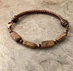 Woven Bracelets, Bracelet Clasps, Opal Necklace, Heart Earrings, Handmade Sterling Silver, Copper Wire, Metal Jewelry, Vintage Items, Weaving