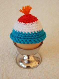 Renate's haken en zo: Patroon grappige eierwarmers