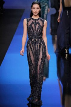 Elie Saab Fall 2013 Collection.
