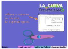 """Recursos Educativos de Educación Infantil: """"La Cueva de Tragapalabras"""""""