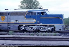 RailPictures.Net Photo: D&H 18 Delaware & Hudson ALCO PA-1 at Colonie, New York by Ellis Simon