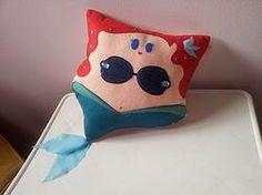 Handmade The Little Mermaid Ariel Fan Art Plush Pillow   #disney #disneyprincess #princess #movies #cartoons #animations #pixar #dreamworks #tv #television #fandom   $29.95   http://www.rbitencourtusa.com/#!product/prd1/2684898191/handmade-the-little-mermaid-ariel-pillow