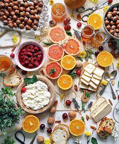 Bom dia!  Um café da manhã inspirador para começar a terça-feira da melhor forma possível!  #morning #healthy #FhitsInspiration