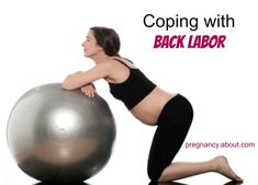 Are you worried about back labor? It can make everything so much harder! Here are some tips to cope in your #labor.