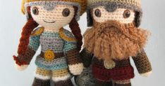 My latest pattern, to make a selection of crochet Dwarves, is finally finished. I started working on this pattern nearly two years ago, ...