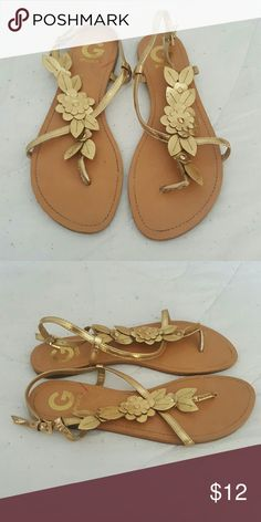 Sandals G by guess sandals, good condition, no scuffing G by Guess Shoes Sandals