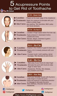 11 Acupressure Points For Toothache Relief - Have You Tried These Yet?
