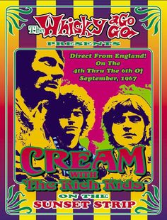 Direct From England ! On The 4th Thru The 6th September , 1967