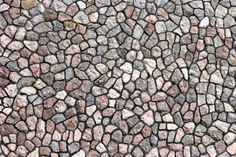 Granite Stone Wall With Uneven Stones Stock Photo, Picture And Royalty Free Image. Image 359193. Floor Texture, Tiles Texture, Stone Texture, Texture Design, Wallpaper For Home Wall, Doll House Wallpaper, Stone Pavement, Paving Pattern, Cladding Materials