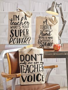 The perfect bag for the sassy teacher in your life.