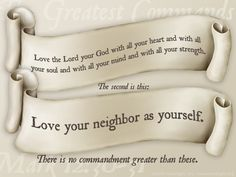 love the lord your god with all your heart - Google Search