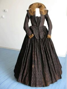 16th Century Elizabethan Gown Idea Coat and Skirt